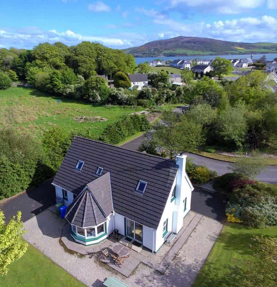 Aerial view of Cottage 5