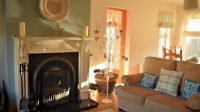 Living room of Milltown Mews Holiday Home Rathmullan