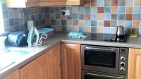 kitchen of Milltown Mews Holiday Home Rathmullan